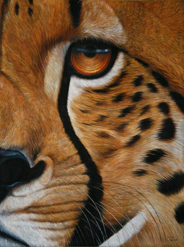 amazing artwork cheetah